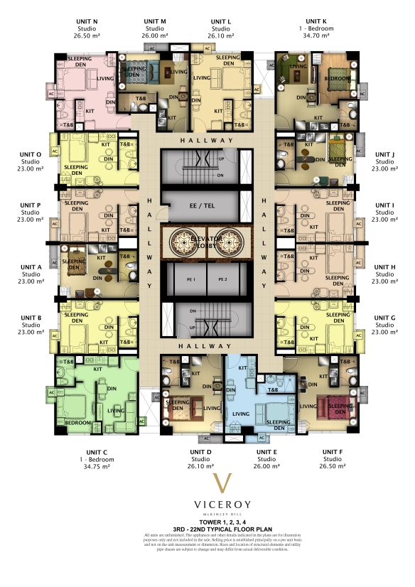 The Viceroy Residences Floor Plan